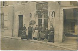 BLOIS - Carte Photo - Bourrellerie-Sellerie E. BOURGOIN - Blois