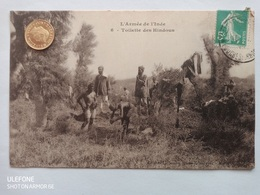 L'Armee De I'Inde, Toilette Des Handouts, France, 1910 - Altri