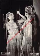 Lucy Tilly - Koninklijke Opera Gent - Opera Lucia Di Lammermoor 1958 - Foto 10,5x15cm - Photos