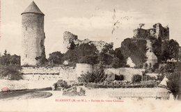 Blamont Ruines Du Vieux Chateau - Blamont