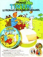 "PUB FROMAGE  ""  TINTIN ""  1980 (1) - Bücher, Zeitschriften, Comics"