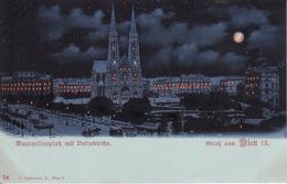 2637106Gruss Aus Wien, Maximilianplak Mit  Votivkirche - Unclassified