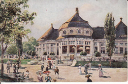 2637147Bayrische Gewerbeschau 1912 In Munchen, Hauptreftaurant (Falten Sehen Rückseite) - München