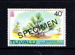 TUVALU    1977    40c  Screen  Pine    Opt  Specimen     MNH - Tuvalu (fr. Elliceinseln)