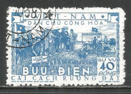 Vietnam 1955 Used Stamp Michel # D. 06 - Viêt-Nam