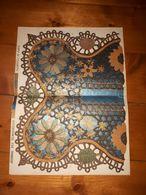 1890 STAMPA MODELLO GRAVURE BRODERIE MODA MODE JOURNAL DES DEMOISELLES PARIS - Stampe & Incisioni