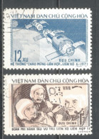 Vietnam 1972 Used Stamps  Mi  717-18  Space - Viêt-Nam