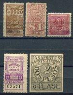 Stempelmarken / Int. Lot Mit 5 Werten (2059) - Briefmarken