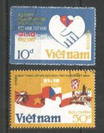 Vietnam 1987 Used Stamps  Mi. 1844-5 - Viêt-Nam
