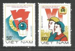 Vietnam 1988 Mint Stamps MNG Set - Viêt-Nam