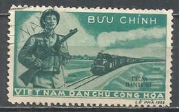Vietnam Nord  1959 Used Stamp Michel #  04 - Viêt-Nam