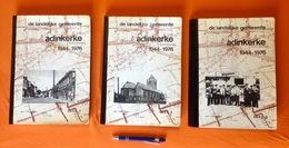 TOP 3 Boeken DE LANDELIJKE GEMEENTE ADINKERKE 1944-1976 527blz ©1980 DE PANNE Geschiedenis Heemkunde ANTIQUARIAAT Z435 - De Panne