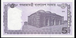 BANGLADESH P64Aa 5 TAKA 2016 UNC. - Bangladesch
