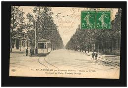 ELD 502 - Lille - Roubaix Par Le Nouveau Boulevard - Entrée De La Ville Boulevard De Paris Tramway Mongy - Lille