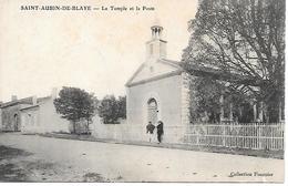 Nv/ 1    33    Saint-aubin De Blaye    Le Temple & La Poste   (animations) - France