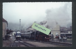Gare De Pontarlier - Locomotive Vapeur Et TER - Pontarlier
