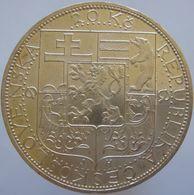 Czechoslovakia 20 Korun 1937 UNC - Silver - Tchécoslovaquie
