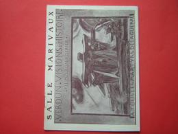 LIVRET / PROGRAMME SALLE MARIVAUX  VERDUN VISIONS D'HISTOIRE  FILM LEON POIRIER A TOUS LES MARTYRS DE LA GUERRE - Boeken, Tijdschriften & Catalogi