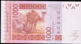 W.A.S. C=BURKINA FASO P315Cd 1000 FRANCS (20)15   UNC. - États D'Afrique De L'Ouest