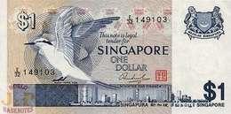 SINGAPORE 1 DOLLAR 1976 PICK 9 UNC - Singapur
