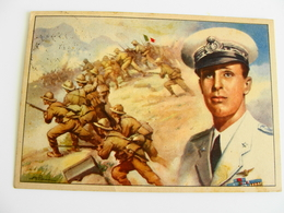 BARI  DUCA D'AOSTA DIFESA AMBA ALAGI    CARTOLINA FRANCHIGIA   MILITARE     VIAGGIATA COME DA FOTO - Guerre 1939-45