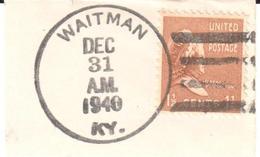 USA - Waitman KY - Hunter - Hunting - Chasse - Stamps
