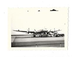 Aérodrome De Rabat Salé Petite Photographie Avion Au Départ Pour La France 1960 - Aeródromos