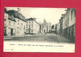 C.P. Leuven = Eglise   Des  Péres Des S.S. Coeurs;  Sanctuaire  De St-JOSEPH - Leuven