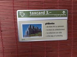 Phonecard Philswiss 308 L (Mint,Neuve) Rare - Schweiz