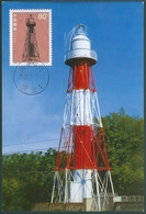 B4056 China CM With First Day Stempel Architecture Lighthouse - Lighthouses