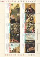 1999 Netherlands Art Paintings Rembrandt Miniature Sheet MNH - Rembrandt