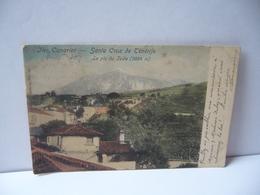 ILES CANARIES ISLAS CANARIAS SANTA CRUZ DE TENERIFE ESPANA ESPAGNE LE PIC DU TEIDE CPA 1907 Nels Bruxelleserie 14 No 95 - Autres