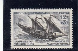 France - 1957 - N° YT 1093** - Journée Du Timbre - France