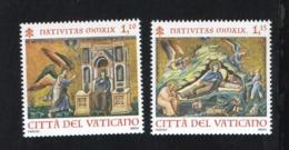 2019 - VATICAN - VATICANO - VATIKAN - S36E1 - MNH SET OF 2 STAMPS ** - Vatican