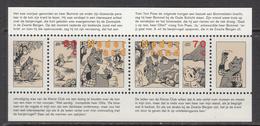 1996 Netherlands Art Comics Bears Miniature Sheet  MNH - Cómics