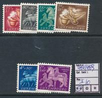 LUXEMBOURG PRIFIX 484/489 MNH - Luxemburg