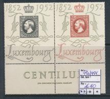 LUXEMBOURG PRIFIX 453/454 MNH - Luxemburg