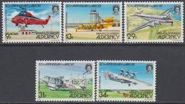 Alderney 1985 - The 50th Anniversary Of Alderney Airport - Aircraft - Mi 18-22 ** MNH - Alderney
