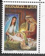MONACO, 2019, MNH, CHRISTMAS, 1v - Christmas