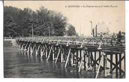 CPA  De  MEZIERES  (08)   -   Le   Pont  En  Bois   Et  Le  Jardin  Bayard         //   TBE - Frankrijk