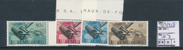 LUXEMBOURG PRIFIX 425/428 MNH - Luxemburg