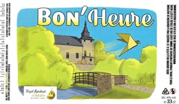 ÉTIQUETTE DE BIÈRE BELGE - Brasserie De Bastogne - Cerveza