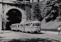 Tram Lausanne-Moudon. Photo 12 X 8 Cm. No Postcard. - VD Vaud