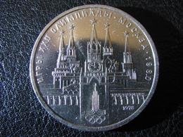 USSR Soviet Russia Olympiad 1980 Moscow Kremlin 1 Ruble 1978 - Russland
