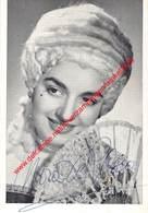 Nora De Rosa - Koninklijke Opera Gent - Opera La Tosca - Foto 8,5x12,5cm - Gehandtekend/signed - Photos