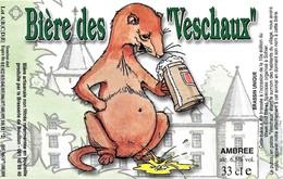 ÉTIQUETTE DE BIÈRE BELGE - Brasserie De Bouillon - Cerveza