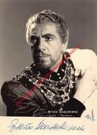 Enzo Mascherini - Koninklijke Opera Gent - Opera La Tosca 1960 - Foto 10,5x15cm - Gehandtekend/signed - Photos