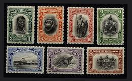North Bornéo Series Magnifique Colle Native Native 1932 - Borneo Del Nord (...-1963)