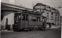 Tram Lausanne ? Small Photo 8 X 5 Cm. No Postcard. - VD Vaud