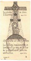 PARAY LE MONIAL LA GLOIRE DE DIEU L'ILLUMINE IMAGE PIEUSE RELIGIEUSE HOLY CARD SANTINI HEILIG PRENTJE - Imágenes Religiosas